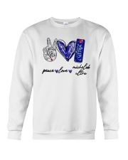 Peace Love Michelob Ultra Shirt Crewneck Sweatshirt thumbnail