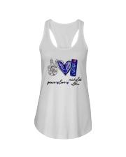 Peace Love Michelob Ultra Shirt Ladies Flowy Tank thumbnail