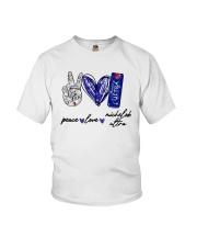 Peace Love Michelob Ultra Shirt Youth T-Shirt thumbnail