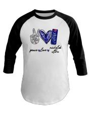 Peace Love Michelob Ultra Shirt Baseball Tee thumbnail