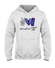 Peace Love Michelob Ultra Shirt Hooded Sweatshirt thumbnail