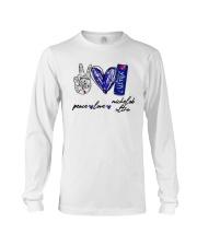 Peace Love Michelob Ultra Shirt Long Sleeve Tee thumbnail