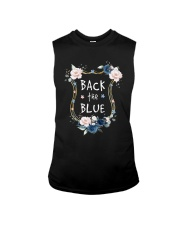 Flower Back The Blue Shirt Sleeveless Tee thumbnail