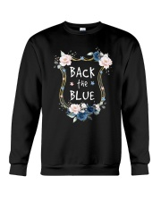 Flower Back The Blue Shirt Crewneck Sweatshirt thumbnail