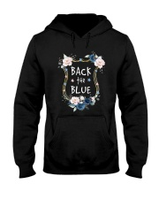 Flower Back The Blue Shirt Hooded Sweatshirt thumbnail