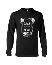 Flower Back The Blue Shirt Long Sleeve Tee thumbnail