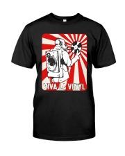 Viva La Vinyl Shirt Classic T-Shirt front