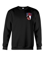 Mississippi And American Flag Shirt Crewneck Sweatshirt thumbnail