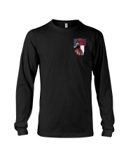 Mississippi And American Flag Shirt Long Sleeve Tee thumbnail