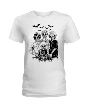 The Golden Ghouls Shirt Ladies T-Shirt thumbnail