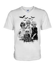 The Golden Ghouls Shirt V-Neck T-Shirt thumbnail