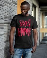 Sexiest Vampire Shirt Classic T-Shirt apparel-classic-tshirt-lifestyle-front-41-b