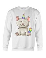 Kitty Unicorn Crewneck Sweatshirt thumbnail