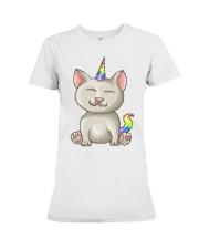 Kitty Unicorn Premium Fit Ladies Tee thumbnail