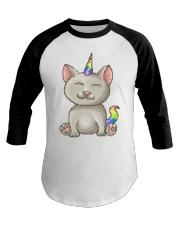 Kitty Unicorn Baseball Tee thumbnail