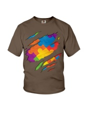 National Autism Awareness Support Superheroes Youth T-Shirt thumbnail