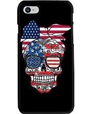 Sugar Skull Flag Bow Glasses Phone Case thumbnail
