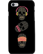 See no evil hear no evil speak no evil skulls Phone Case thumbnail
