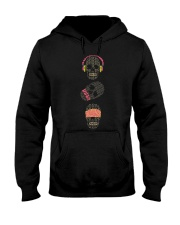 See no evil hear no evil speak no evil skulls Hooded Sweatshirt front