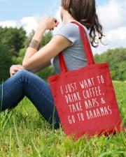 Drink Coffee Take Naps Go to Bahamas Tote Bag lifestyle-totebag-front-6