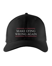 MAKE LYING HAT Embroidered Hat front