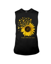 Sunflower Accept Understand Love Autism Shirt Sleeveless Tee thumbnail