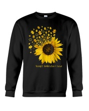 Sunflower Accept Understand Love Autism Shirt Crewneck Sweatshirt thumbnail