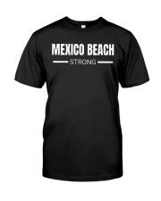 Mexico Beach Strong Hurricane Michael T-Shirt Classic T-Shirt front