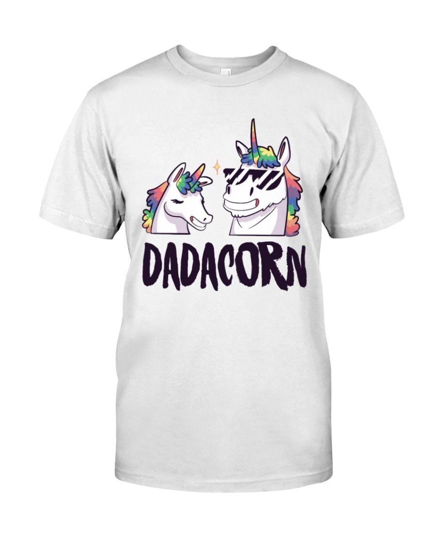Dadacorn Unicorn Dad 2018 Shirt Premium Fit Mens Tee