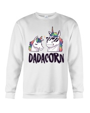 Dadacorn Unicorn Dad 2018 Shirt Crewneck Sweatshirt thumbnail