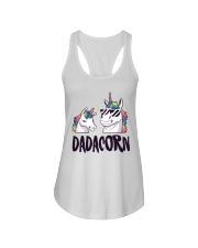 Dadacorn Unicorn Dad 2018 Shirt Ladies Flowy Tank thumbnail
