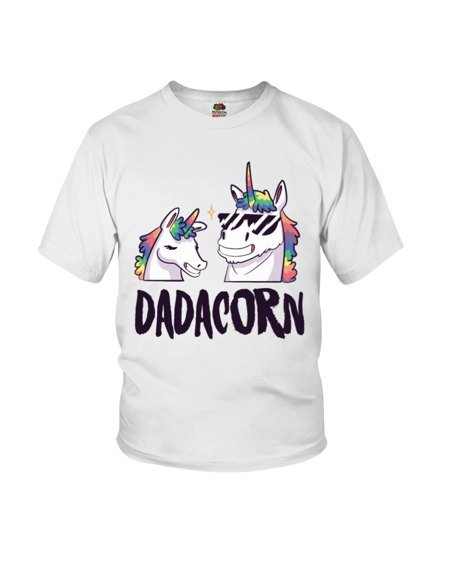 Dadacorn Unicorn Dad 2018 Shirt Youth T-Shirt
