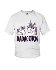 Dadacorn Unicorn Dad 2018 Shirt Youth T-Shirt tile