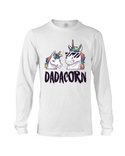 Dadacorn Unicorn Dad 2018 Shirt Long Sleeve Tee thumbnail