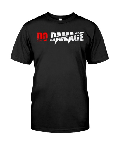 DO DAMAGE BaseBall T-Shirt
