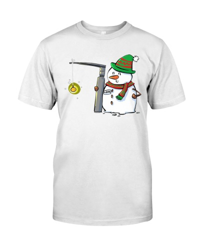 Snowman with a Miller 2 Anesthesia Shirt