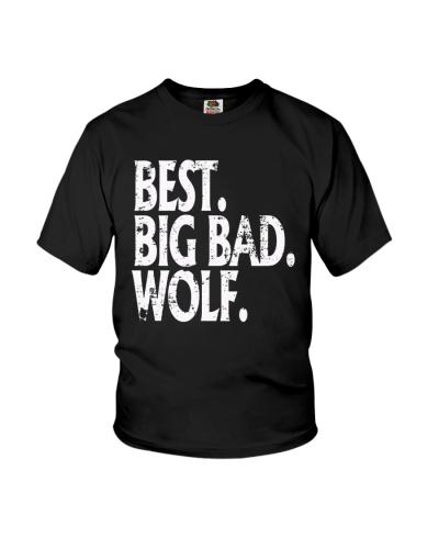 Big Bad Wolf Halloween Tee Shirt