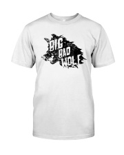 Big Bad Wolf Halloween Unisex Shirt Premium Fit Mens Tee thumbnail
