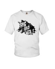 Big Bad Wolf Halloween Unisex Shirt Youth T-Shirt thumbnail