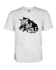 Big Bad Wolf Halloween Unisex Shirt V-Neck T-Shirt thumbnail