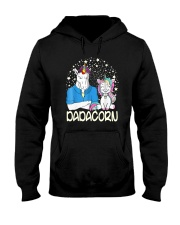 Dadacorn Unicorn Dad Shirt Hooded Sweatshirt tile