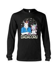 Dadacorn Unicorn Dad Shirt Long Sleeve Tee tile