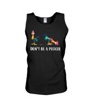 Don't Be A Pecker Chicken Gift Shirt Unisex Tank thumbnail