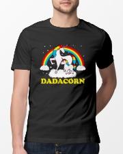 Dadacorn Matching Unicorn Shirt Classic T-Shirt lifestyle-mens-crewneck-front-13
