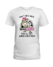 Don't Mess With Mamasaurus Tee Shirt Ladies T-Shirt thumbnail