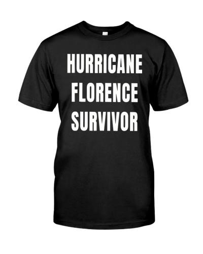 Hurricane Florence Survivor T-Shirt