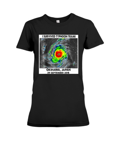 I Survived Typhoon Trami T-Shirt