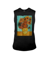 Sunflowers Van Gogh Gift T-Shirt Sleeveless Tee thumbnail
