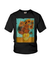 Sunflowers Van Gogh Gift T-Shirt Youth T-Shirt tile