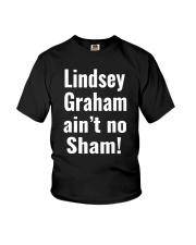 Lindsey Graham Ain't No Sham T-Shirt Youth T-Shirt tile